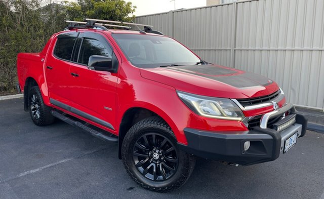 Used Holden Colorado RG MY16 Z71 Crew Cab Devonport, 2016 Holden Colorado RG MY16 Z71 Crew Cab Absolute Red 6 Speed Sports Automatic Utility