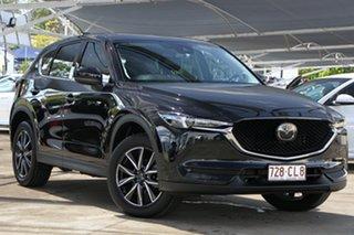 2021 Mazda CX-5 KF4WLA GT SKYACTIV-Drive i-ACTIV AWD Black 6 Speed Sports Automatic Wagon.