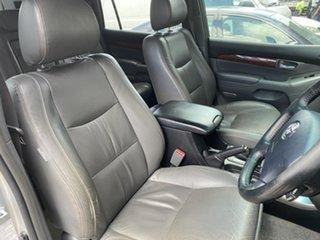 2004 Toyota Landcruiser Prado GRJ120R Grande Silver 5 Speed Automatic Wagon