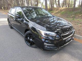 2017 Subaru Impreza G5 MY17 2.0i-S CVT AWD Black 7 Speed Constant Variable Hatchback.