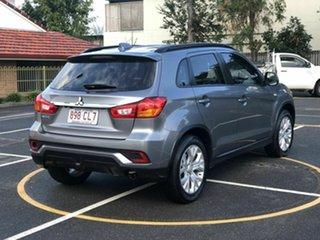 2018 Mitsubishi ASX XC MY19 ES 2WD Grey 1 Speed Constant Variable Wagon.