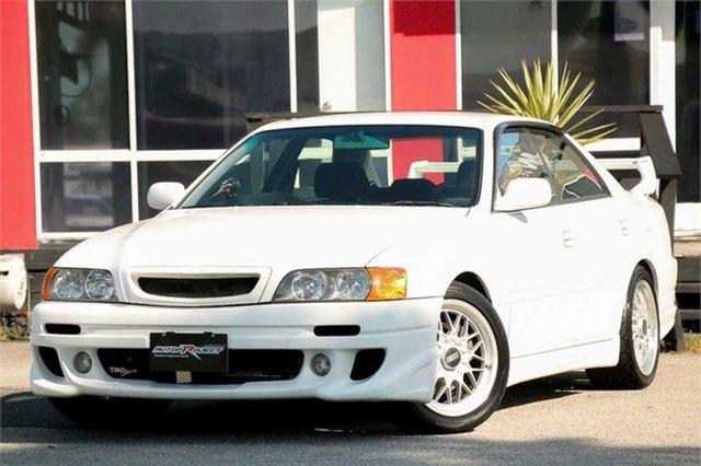 Used Toyota Chaser JZX100 Tourer V Cheltenham, 2000 Toyota Chaser JZX100 Tourer V White 4 Speed Automatic Sedan