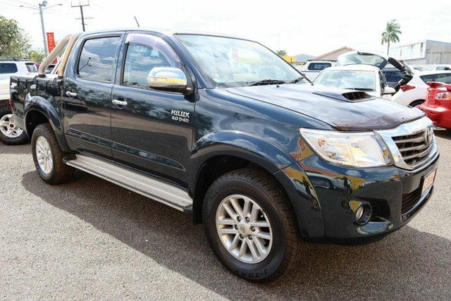 Used Toyota Hilux KUN26R MY14 SR5 Double Cab Winnellie, 2014 Toyota Hilux KUN26R MY14 SR5 Double Cab Black 5 Speed Automatic Utility