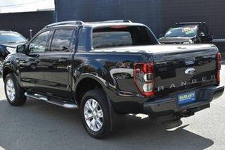 2014 Ford Ranger PX Wildtrak 3.2 (4x4) Black 6 Speed Automatic Crew Cab Utility