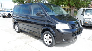 2005 Volkswagen Multivan T5 Highline Black 6 Speed Sports Automatic Wagon.