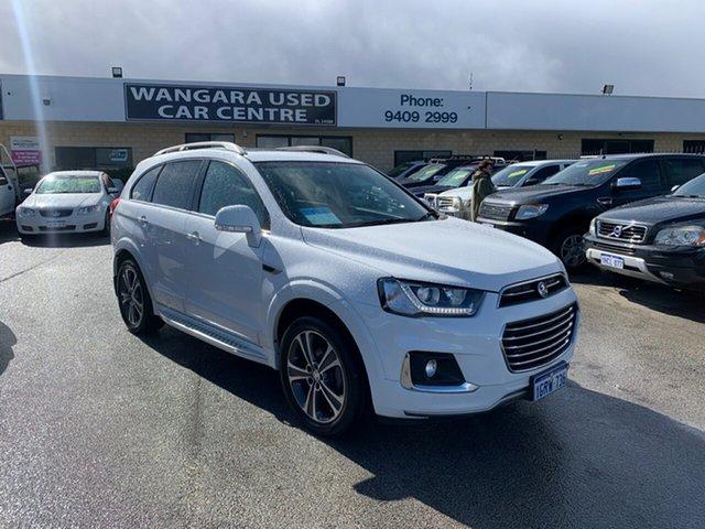Used Holden Captiva CG MY18 7 LTZ (AWD) Wangara, 2017 Holden Captiva CG MY18 7 LTZ (AWD) White 6 Speed Automatic Wagon