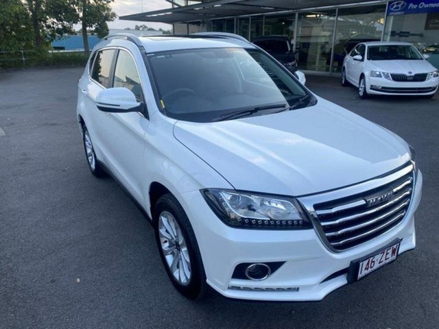 Used Haval H2 Premium 2WD Springwood, 2019 Haval H2 Premium 2WD White 6 Speed Sports Automatic Wagon