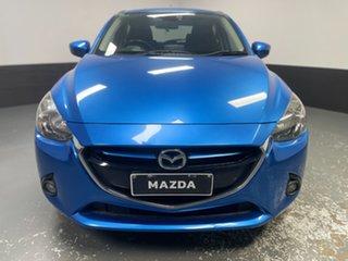 2015 Mazda 2 DJ2HA6 Genki SKYACTIV-MT Dynamic Blue 6 Speed Manual Hatchback.