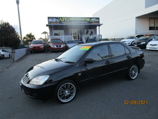 2007 Mitsubishi Lancer CH MY07 ES Black 5 Speed Manual Sedan