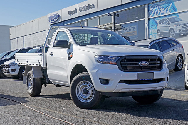 Used Ford Ranger PX MkIII 2021.25MY XL Springwood, 2020 Ford Ranger PX MkIII 2021.25MY XL White 6 Speed Sports Automatic Single Cab Chassis