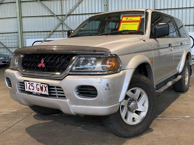Used Mitsubishi Challenger PA MY02 Rocklea, 2002 Mitsubishi Challenger PA MY02 Silver 4 Speed Automatic Wagon