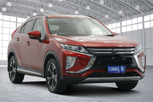 Used Mitsubishi Eclipse Cross YA MY18 LS 2WD Victoria Park, 2018 Mitsubishi Eclipse Cross YA MY18 LS 2WD Brilliant Red 8 Speed Constant Variable Wagon