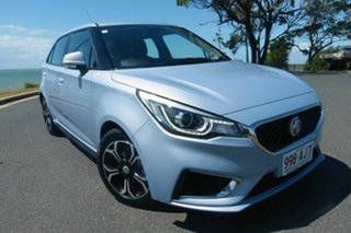 2020 MG MG3 SZP1 MY21 Excite Grey 4 Speed Automatic Hatchback.