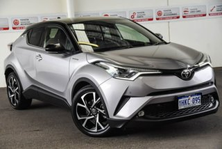 2018 Toyota C-HR NGX10R Update Koba (2WD) Shadow Platinum & Black Roof Continuous Variable Wagon.