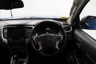 2019 Mitsubishi Triton MR MY19 GLS Double Cab Premium Blue 6 Speed Sports Automatic Utility