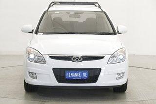 2010 Hyundai i30 FD MY10 SR White 5 Speed Manual Hatchback.