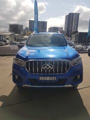 2021 LDV T60 SKC8 MY20 Luxe (4x4) Jewel Blue 6 Speed Automatic Double Cab Utility