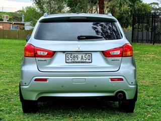 2011 Mitsubishi ASX XA MY11 Aspire Silver 6 Speed Constant Variable Wagon