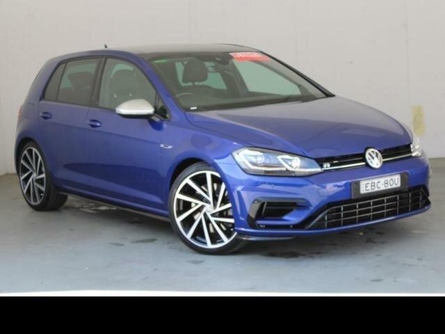 Used Volkswagen Golf AU MY19 R Phillip, 2019 Volkswagen Golf AU MY19 R Blue 7 Speed Auto Direct Shift Hatchback