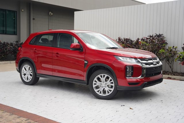 New Mitsubishi ASX XD MY21 ES 2WD Cairns, 2021 Mitsubishi ASX XD MY21 ES 2WD Brilliant Red 1 Speed Constant Variable Wagon