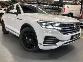 2019 Volkswagen Touareg MY20 Launch Edition White 8 Speed Automatic Wagon.
