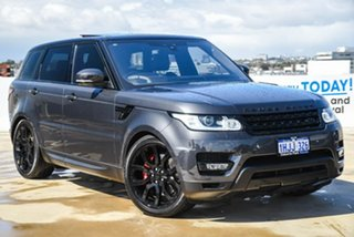 2017 Land Rover Range Rover Sport L494 17MY HSE Grey 8 Speed Sports Automatic Wagon.