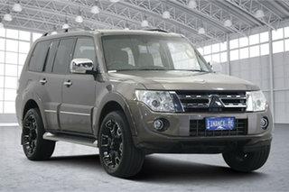 2012 Mitsubishi Pajero NW MY12 Exceed Bronze 5 Speed Sports Automatic Wagon.