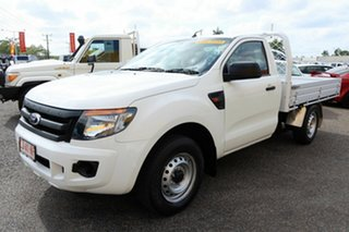 2014 Ford Ranger White 6 Speed Manual Double Cab