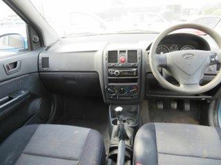 2007 Hyundai Getz Blue 5 Speed Manual Hatchback