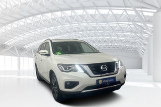 2019 Nissan Pathfinder R52 Series III MY19 Ti X-tronic 2WD White 1 Speed Constant Variable Wagon.