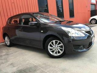2014 Nissan Pulsar C12 ST Grey 1 Speed Constant Variable Hatchback.