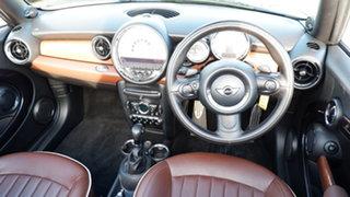 2011 Mini Cabrio R57 LCI Cooper S Steptronic Brown 6 Speed Sports Automatic Convertible