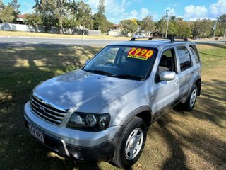 2006 Ford Escape ZB XLS Silver 4 Speed Automatic SUV.
