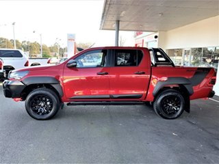 2020 Toyota Hilux GUN126R Rugged X Double Cab Feverish Red 6 Speed Sports Automatic Utility