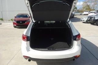 2016 Mazda 6 GJ1032 Sport SKYACTIV-Drive White 6 Speed Sports Automatic Wagon