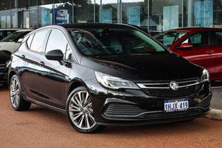 2017 Holden Astra BK MY18 RS-V Black 6 Speed Sports Automatic Hatchback.