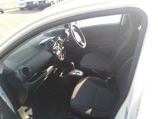 2018 Mitsubishi Mirage LA MY18 ES White Continuous Variable Hatchback.