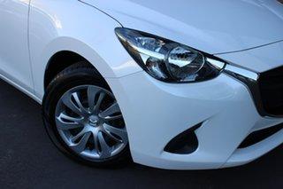 2018 Mazda 2 DJ2HA6 Neo SKYACTIV-MT White 6 Speed Manual Hatchback.