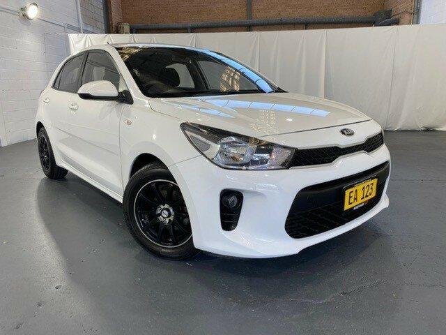 Used Kia Rio YB MY17 S Castle Hill, 2017 Kia Rio YB MY17 S White 4 Speed Sports Automatic Hatchback