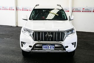 2018 Toyota Landcruiser GDJ150R MY18 Prado GXL (prem Int) (4x4) Glacier White 6 Speed Automatic.