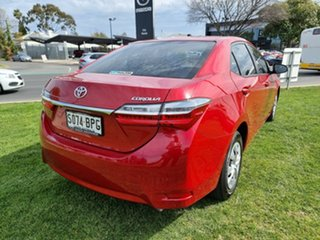 2017 Toyota Corolla ZRE172R Ascent S-CVT Red 7 Speed Constant Variable Sedan.