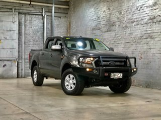 2017 Ford Ranger PX MkII XLS Double Cab Grey 6 Speed Sports Automatic Utility.