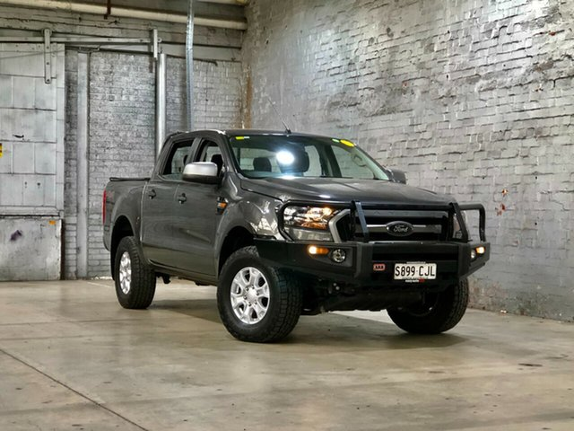 Used Ford Ranger PX MkII XLS Double Cab Mile End South, 2017 Ford Ranger PX MkII XLS Double Cab Grey 6 Speed Sports Automatic Utility