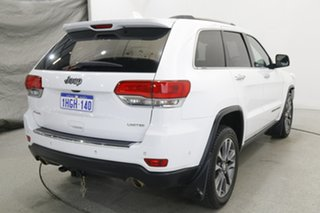 2018 Jeep Grand Cherokee WK MY18 Limited White 8 Speed Sports Automatic Wagon