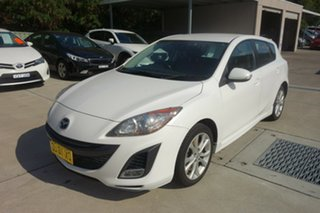 2009 Mazda 3 BL10L1 SP25 Activematic White 5 Speed Sports Automatic Hatchback.
