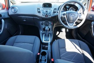 2014 Ford Fiesta WZ MY15 Ambiente PwrShift Candy Red 6 Speed Sports Automatic Dual Clutch Hatchback