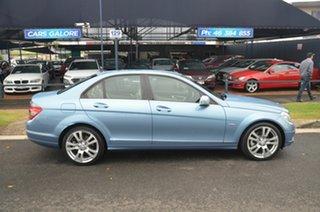 2010 Mercedes-Benz C250 W204 MY10 CGI Avantgarde Blue 5 Speed Auto Tipshift Sedan.