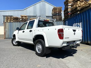2011 Holden Colorado RC MY11 LX Crew Cab 4x2 White 4 Speed Automatic Utility