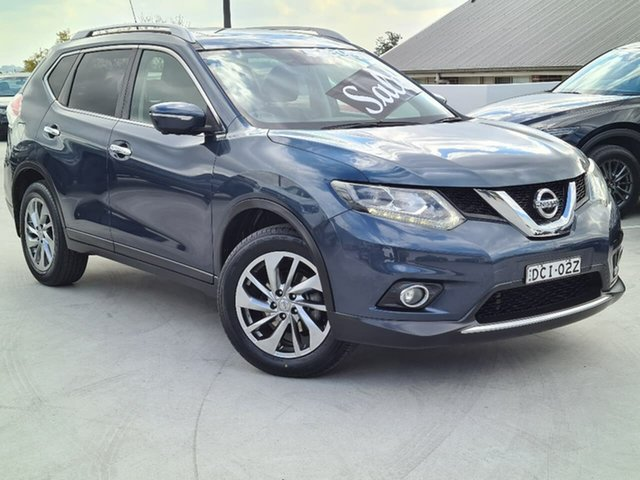 Used Nissan X-Trail T32 Ti X-tronic 4WD Liverpool, 2014 Nissan X-Trail T32 Ti X-tronic 4WD Blue 7 Speed Constant Variable Wagon