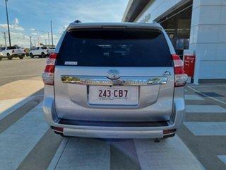 2014 Toyota Landcruiser Prado KDJ150R MY14 Altitude (4x4) Silver Pearl 5 Speed Sequential Auto Wagon.